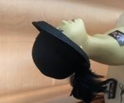 paille noire plume autruche 2